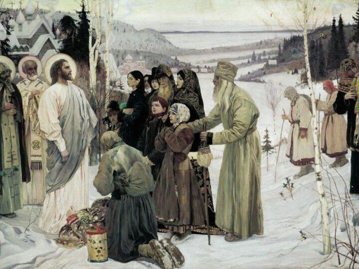 Прихожане кемеровского прихода посетили выставки Русского музея