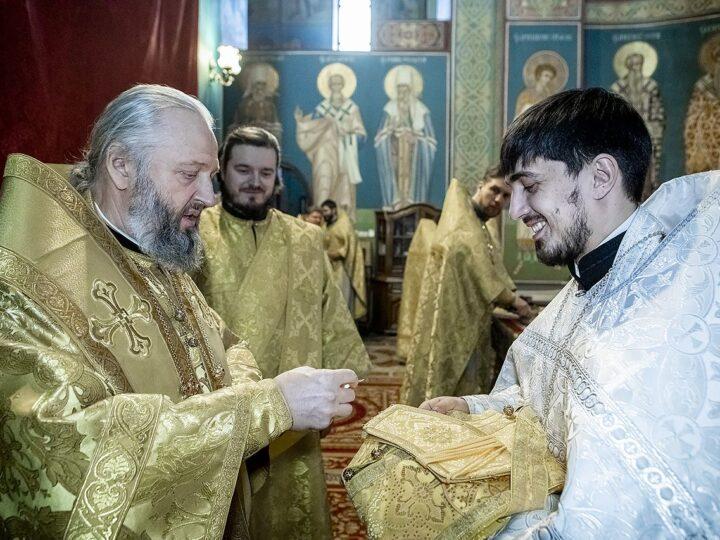 Клир Кемеровской епархии пополнился новым священником