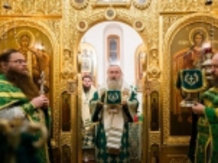 В Троице-Сергиевой лавре молитвенно почтили память преподобного Никона Радонежского