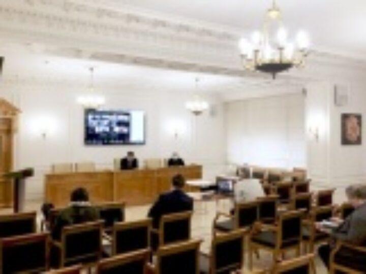 Состоялось первое в 2021 году заседание Объединенного диссертационного совета по специальности теология