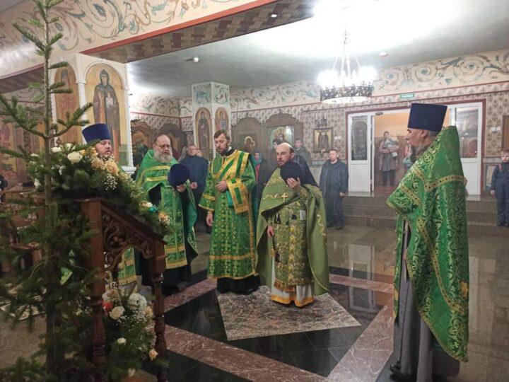 Серафимо-Покровский женский монастырь Ленинска-Кузнецкого встретил престольный праздник