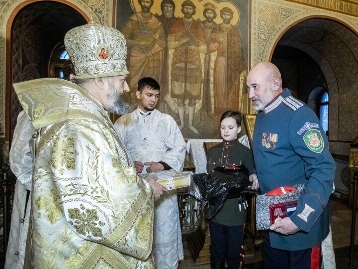 7 января 2020 г. Поздравление главой митрополии юных прихожан собора
