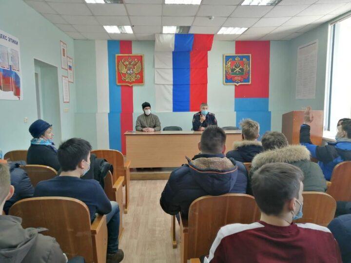Тайгинский священник принял участие в акции «Студенческий десант»