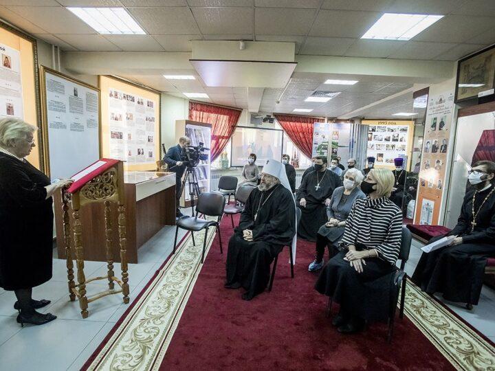 В Музее истории Православия на земле Кузнецкой открылась экспозиция, посвящённая митрополиту Евлогию (Смирнову)