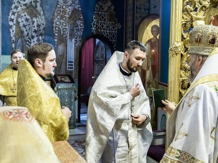 В первое воскресенье 2021 года глава митрополии возглавил молитву о благополучии Кузбасса и рукоположил нового священника