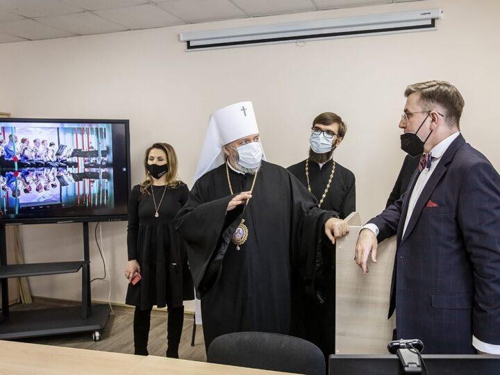 Глава Кузбасской митрополии принял участие в мероприятиях по случаю Дня российского студенчества в Кемеровском государственном институте культуры