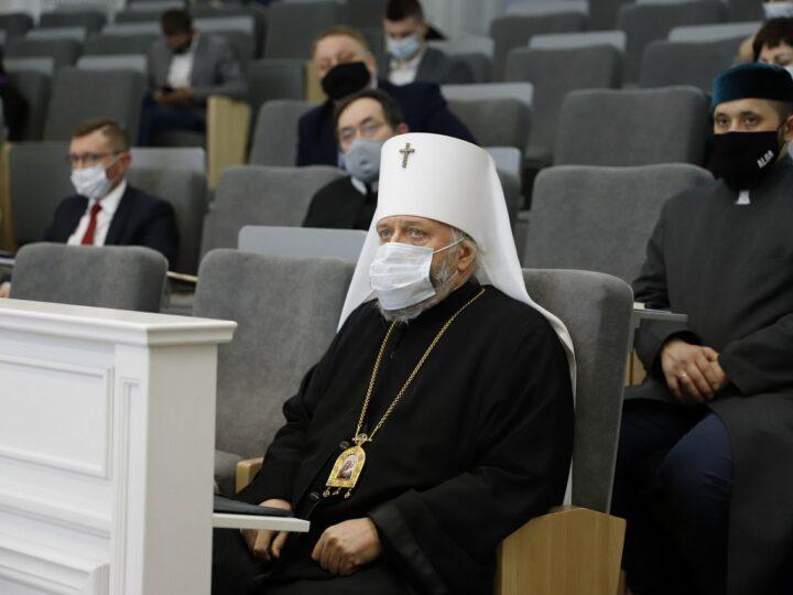 Выступление митрополита Аристарха на межконфессиональном совете при губернаторе Кузбасса