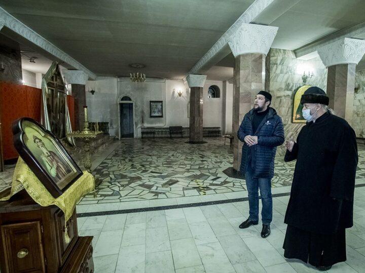 Митрополит Аристарх встретился с руководителем Духовного управления мусульман