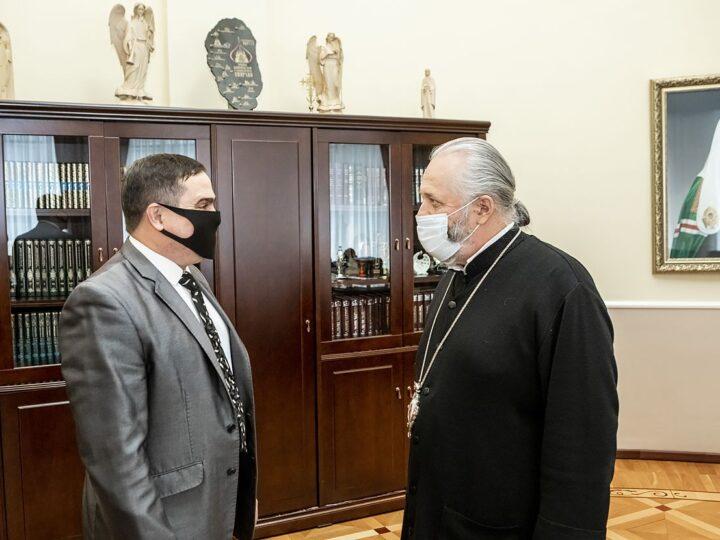 Глава митрополии встретился с новым ректором КузГТУ