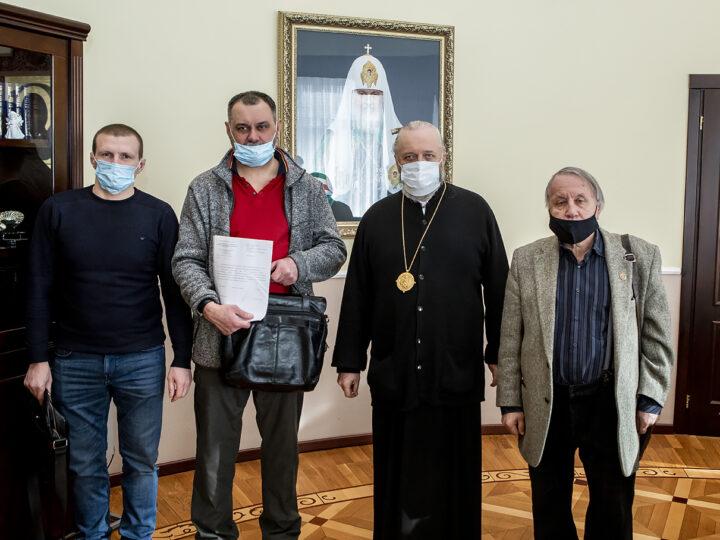 Митрополит встретился с членами Союза писателей и общественниками