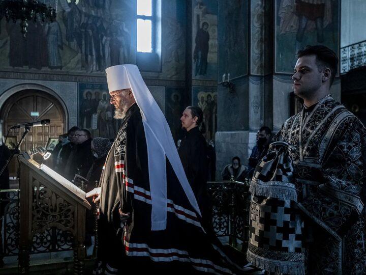 В храмах Кузбасса прозвучала первая часть Великого канона