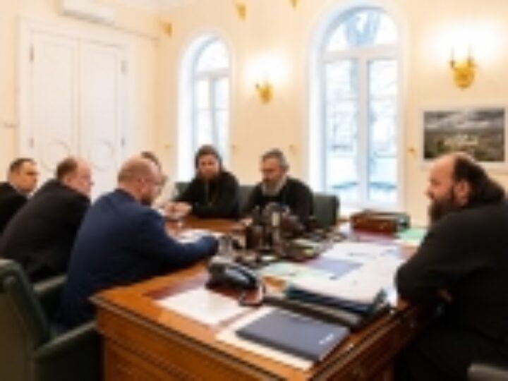 В Финансово-хозяйственном управлении обсудили вопросы реставрации московского подворья Православной Церкви в Америке