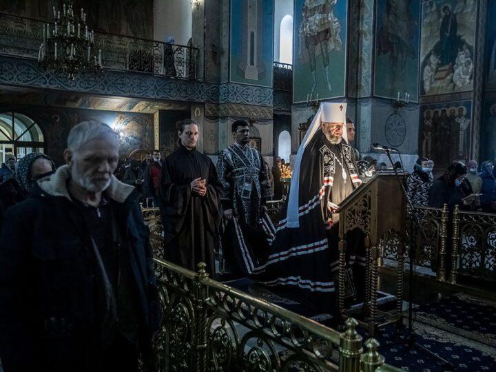 Заключительная часть канона преподобного Андрея Критского прозвучала в православных храмах
