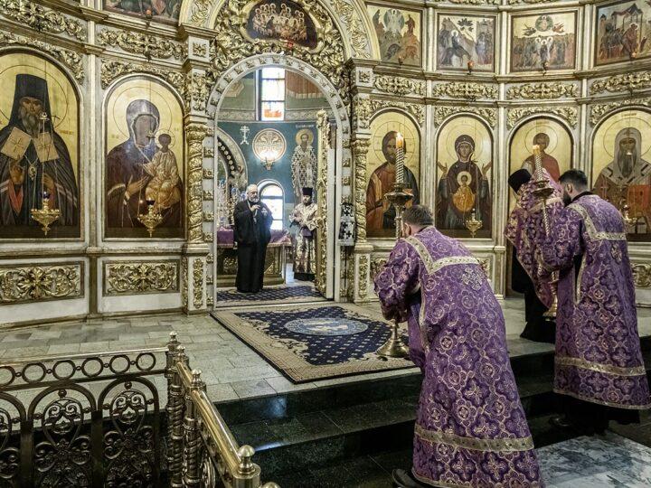 В главном храме Кузбасса состоялся чин прощения