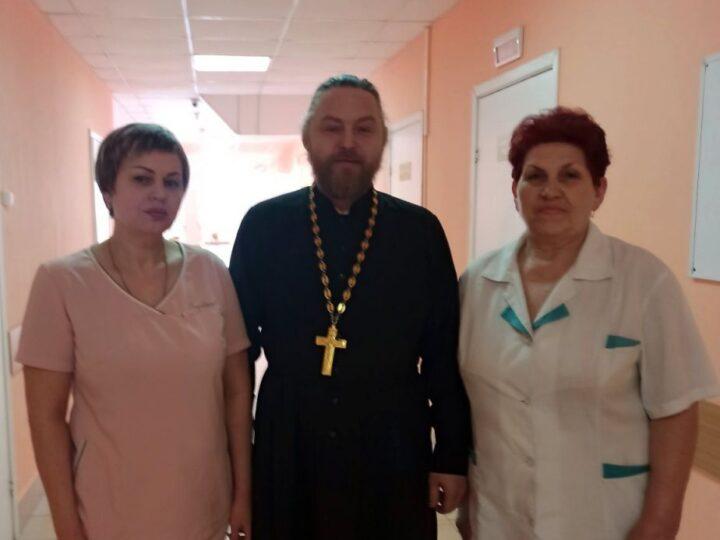 В Мариинске состоялось освящение Центральной городской больницы
