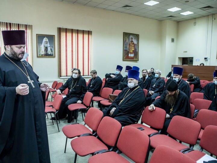 13 апреля 2021 г. Расширенное заседание Архиерейского совета в Кемерове