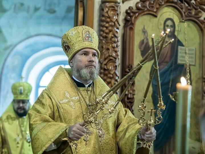 Епископ Владимир удостоен ордена преподобного Серафима Саровского (III степени) ко дню своего 55-летия