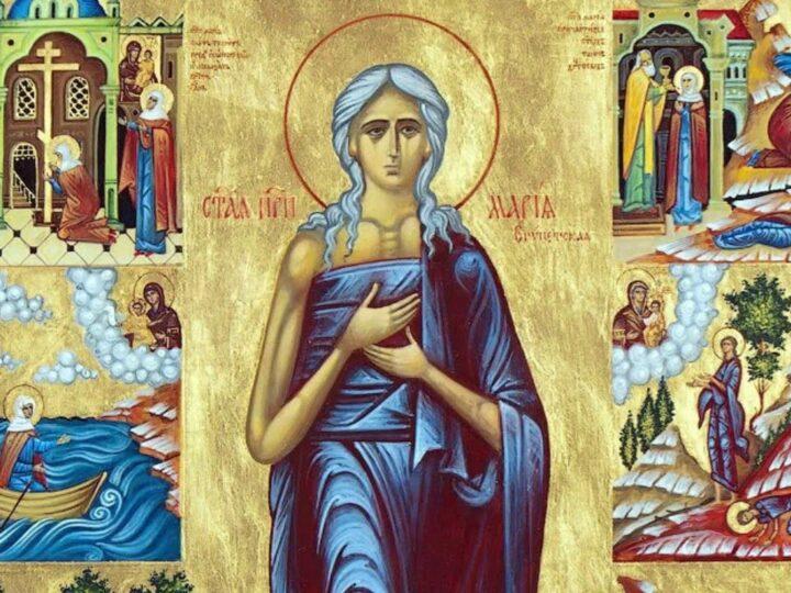 В пятое воскресенье Четыредесятницы митрополит возглавил молитву преподобной Марии Египетской