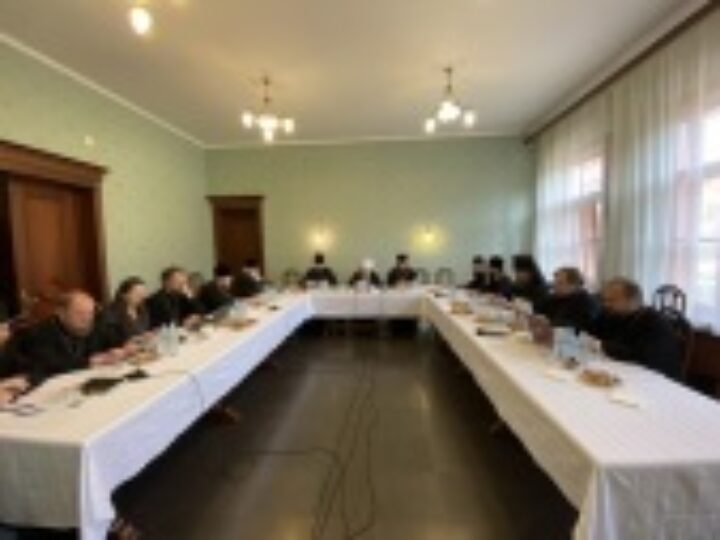 Cостоялось заседание комиссии Межсоборного присутствия по церковному управлению, пастырству и организации церковной жизни