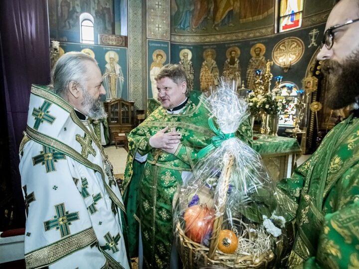 В Кемерове встретили Вербное воскресенье