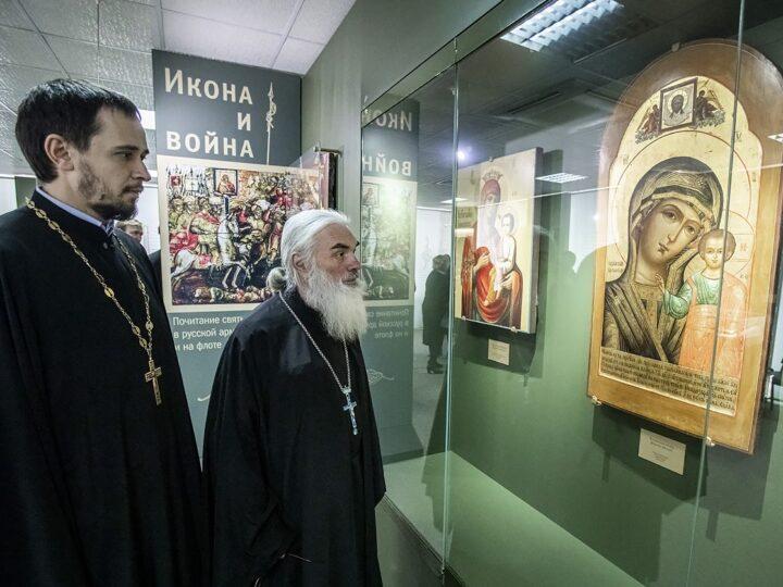 8 апреля 2021 г. Открытие обновлённой экспозиции икон в епархиальном музее
