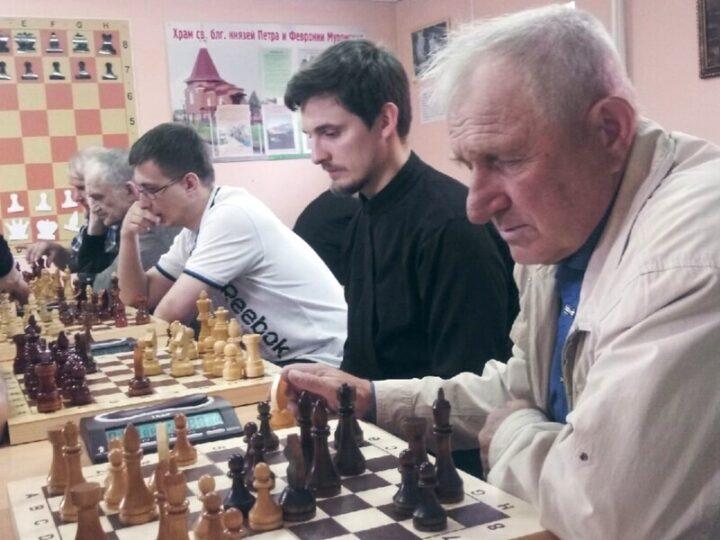 При храме Полысаева прошёл Пасхальный турнир по шахматам