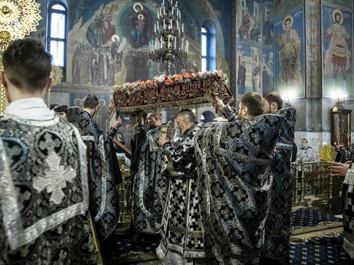 30 мая 2021 г. Чин погребения Плащаницы Спасителя