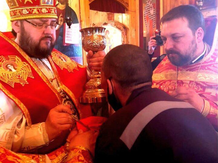 Епископ Мариинский Иннокентий посетил исправительное учреждение