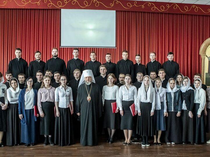 6 мая 2021 г. Торжественный пасхальный акт в Кузбасской семинарии