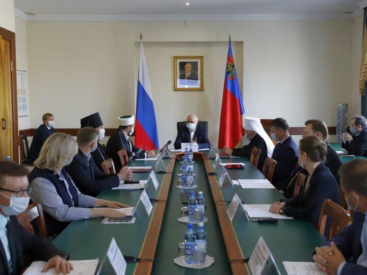 Межконфессиональный совет при губернаторе Кузбасса выступил с заявлением в связи с трагедией в Казани