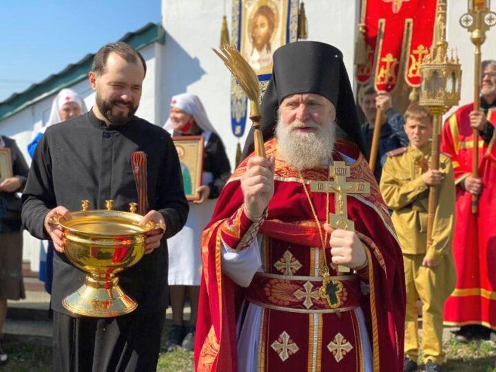 В посёлке Школьном отметили праздник Великой Победы