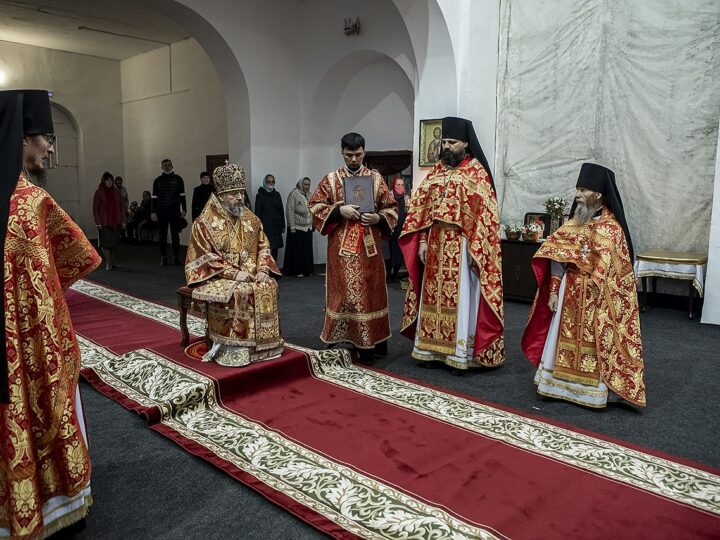 4 мая 2021 г. Светлый вторник. Богослужение в Иверском мужском монастыре Ленинска-Кузнецкого