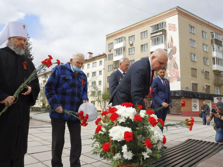Митрополит Аристарх принял участие в областных торжествах по случаю Дня Победы