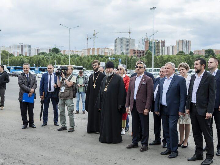 Митрополит Аристарх посетил Международный шахтёрский Сабантуй
