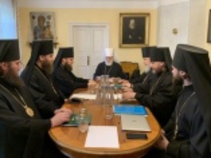 Состоялось первое заседание Архиерейского совета Московской митрополии