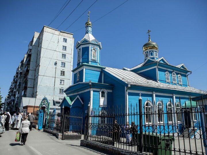 Торжества престольного праздника Вознесения Господня в Белове возглавил митрополит