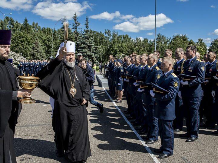 Глава митрополии принял участие в принесении присяги сотрудниками ГУФСИН