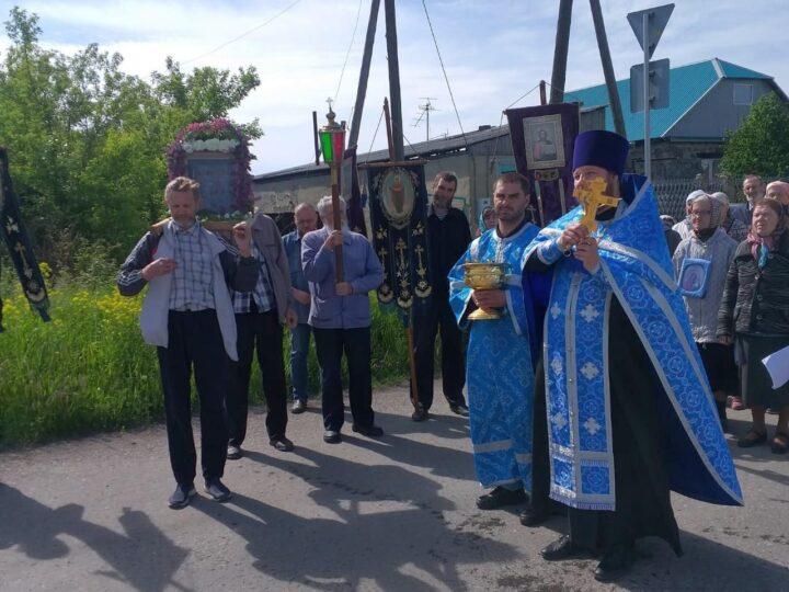 Жители села Драчёнино почтили память погибших в пожаре