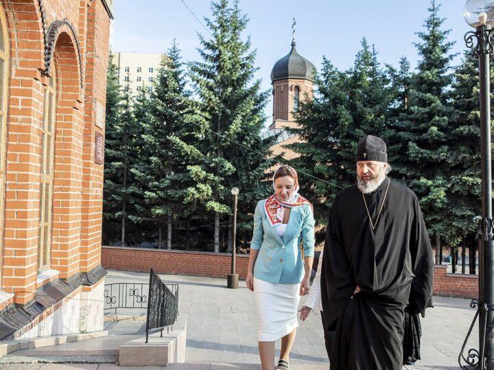 Митрополит Аристарх встретился с Уполномоченным при Президенте Российской Федерации по правам ребёнка