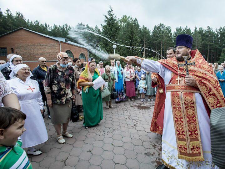 7 июля 2021 г. Престольный праздник кафедрального собора Рождества Иоанна Предтечи в Прокопьевске