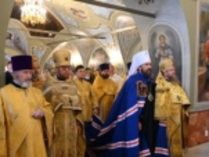 Предстоятели Поместных Православных Церквей поздравили председателя ОВЦС с 55-летием со дня рождения
