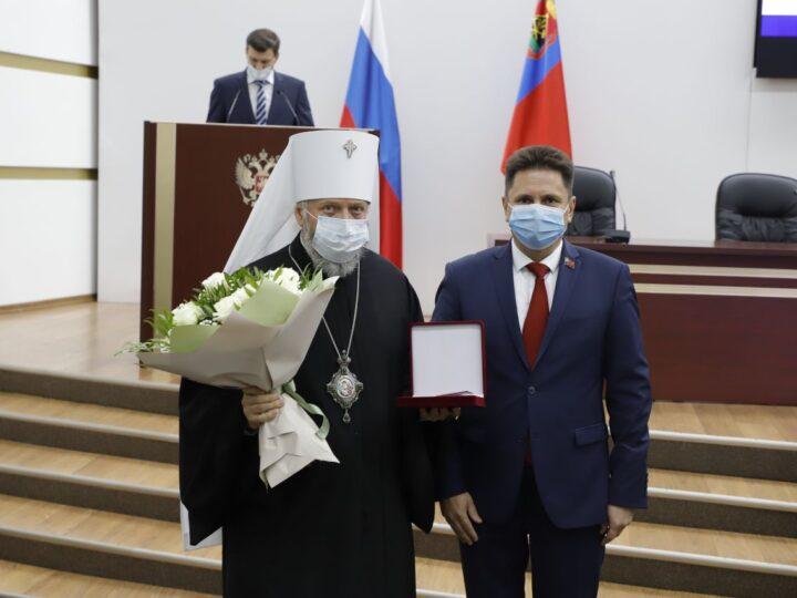 Деятельность Кемеровской епархии получила высокую оценку кузбасских парламентариев