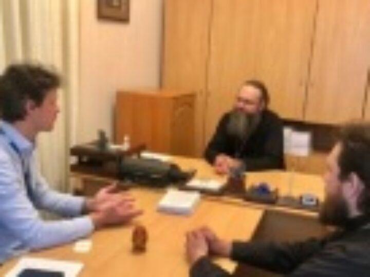Митрополит Нежинский и Прилукский Климент рассказал миссии ОБСЕ о нападениях на верующих Украинской Православной Церкви