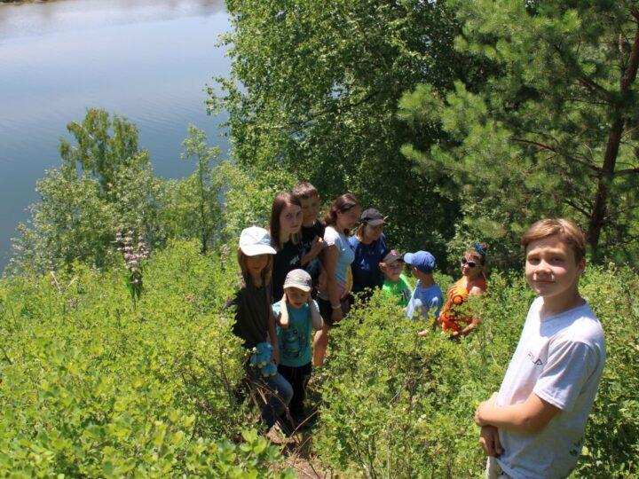 Прокопьевские семьи совершили двухдневный поход