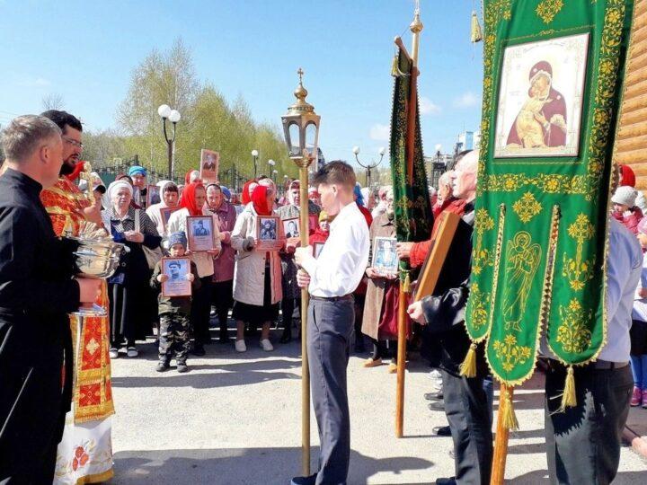Полысаевский храм отметил 10 лет со дня своего основания