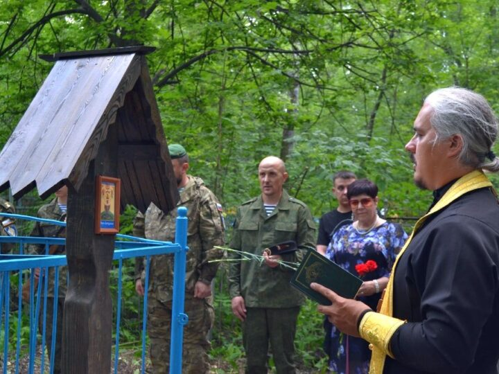 Сподвижники проекта «Кузбассовцы — незабытые герои» восстановили место захоронения героя русско-японской войны