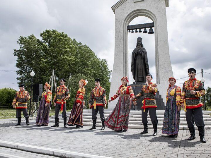 В Прокопьевском округе прошли торжества по случаю дня памяти праведного Стефана (Знаменского)
