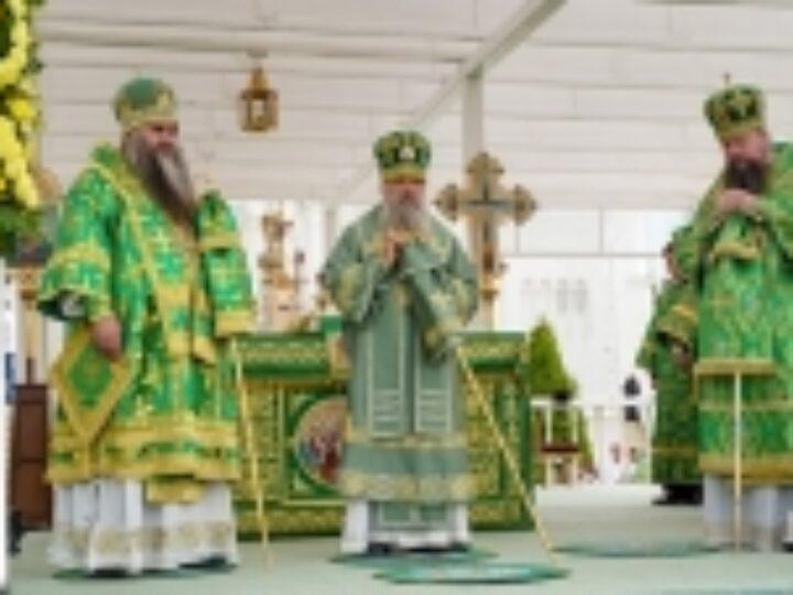 В Дивеевском монастыре состоялись торжества по случаю дня памяти преподобного Серафима Саровского и 30-летия второго обретения его святых мощей