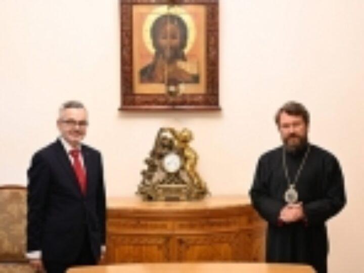 Председатель ОВЦС встретился с новоназначенным послом Польши в России