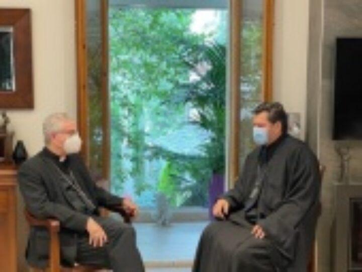 Архиепископ Мадридский Нестор посетил Казанскую общину в княжестве Андорра и встретился с епископом и соправителем княжества